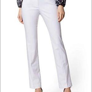 New York & Co. trouser pants white size 8P